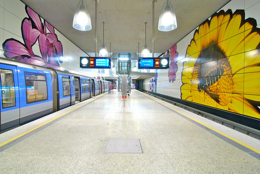 Stazione metropolitana, Monaco di Baviera