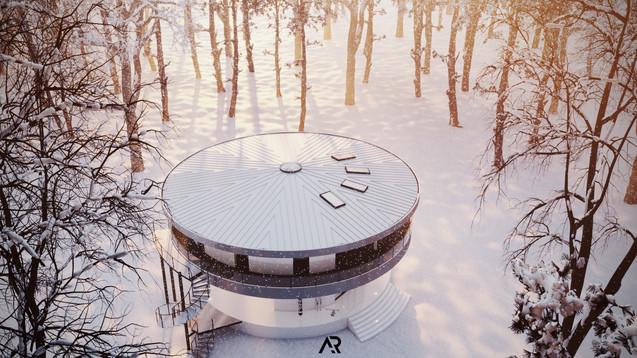 Rotating house