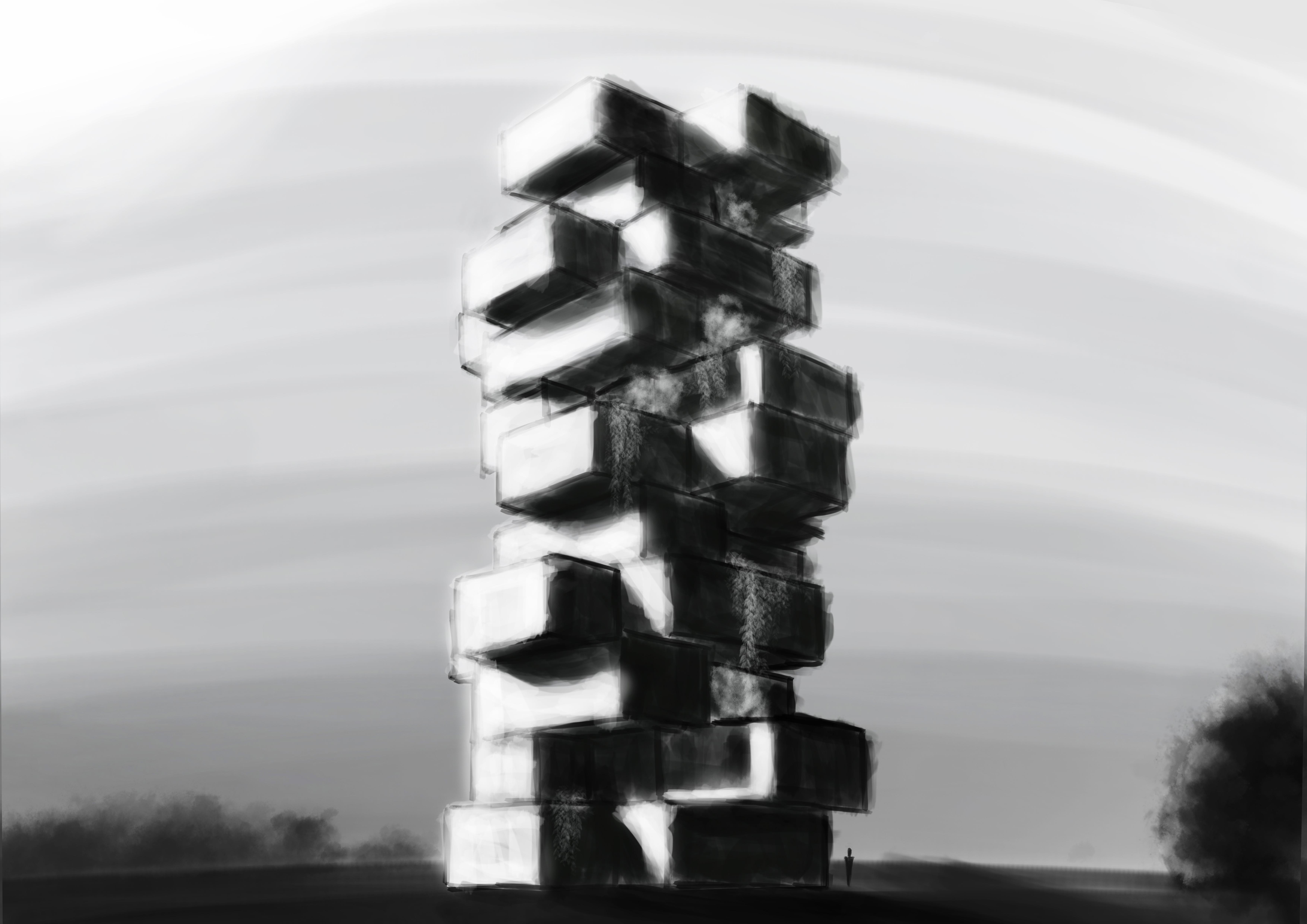 Boceto Torre
