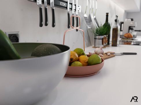Kitchen close up