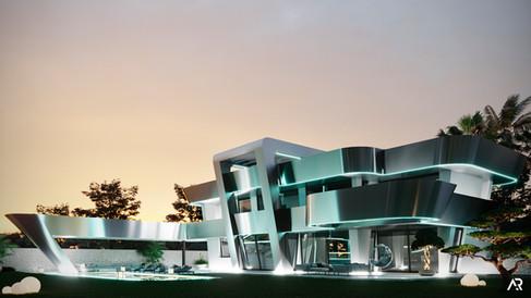 Futurist house