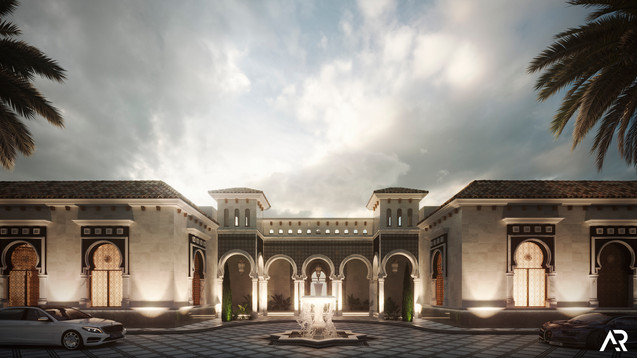Palace in Arabia