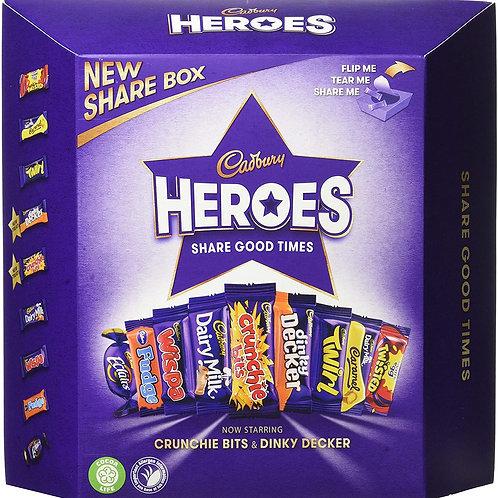 Cadbury HEROES 385 G