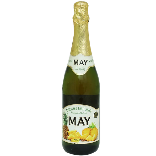 may pineapple sparking juice