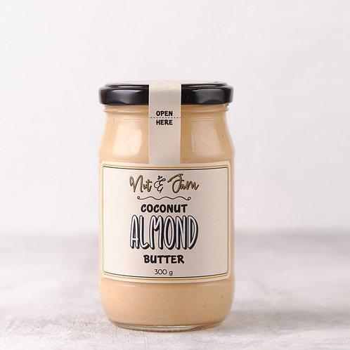 nut & jam COCONUT ALMOND BUTTER 300 G
