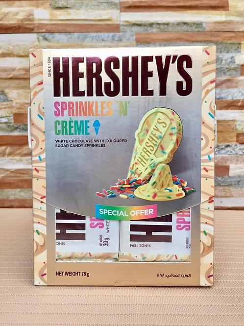 HERSHEY'S SPRINKLES N CREME