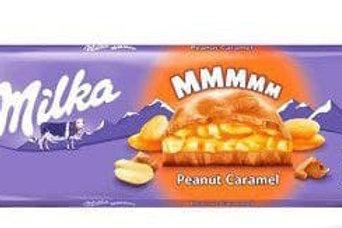 milka mmm peanut caramel