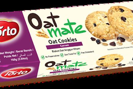 torto oat cookies currant