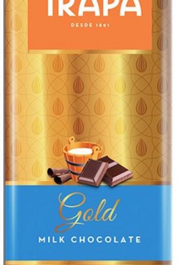 TRAPA Gold MILK CHOCOLATE  100G