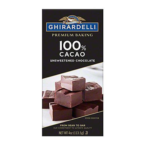 GHIRARDELLI 100% CACAO 113g