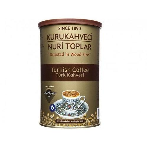 KURUKAHVECI NURI TOPLAR TURKISH COFFEE Turk Kahvesi  WITH MASTIC 250 g