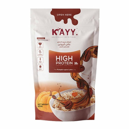 KAYY HIGH PROTEIN The Pumpkin Spice Late One