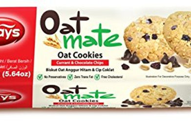 torto oat cookies currant & chocolate chips