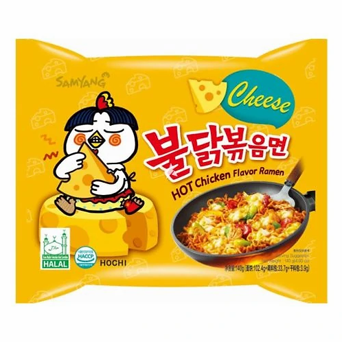 Buldak HOT Chiken Flavor Ramen CHEESE 140 g