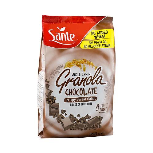 sante whole grain granola chocolate crispy cereal flakes