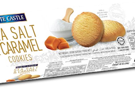 white castle sea salt & caramel cookies