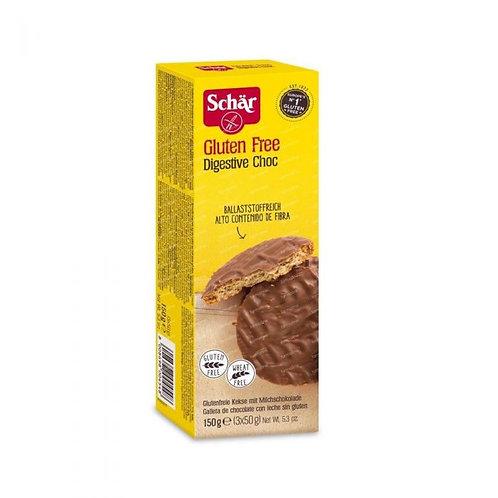 Schar Digestive Choc 150g