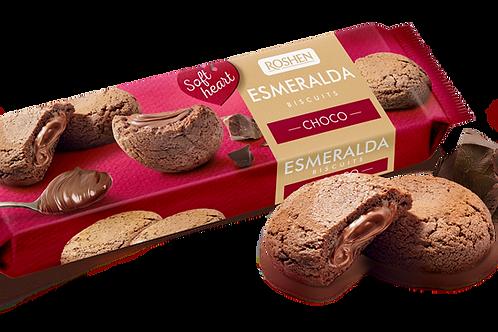 roshen esmeralda biscuits choco