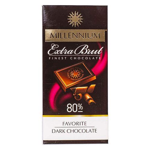 millennium extra bnut 80 %  finest chocolate