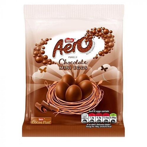 Nestle Aero Chocolate MINI EGGS 70G