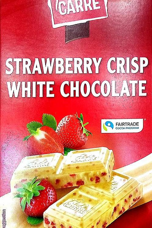 fin carre white chocolate strawberry crisp