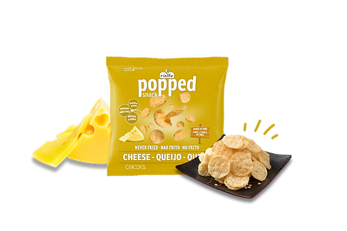 popped snack cheese