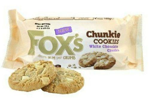 Fox cookies white chocolate