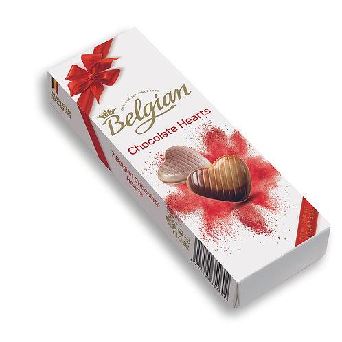 Belgian Chocolate Hearts 60G