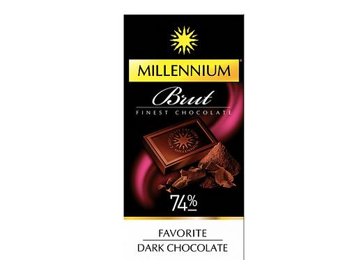 millennium bnut 74 % finest chocolate
