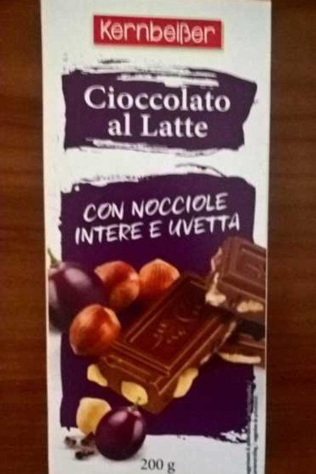 kernbeißer cioccolato  latte