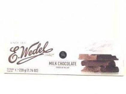 E.Wedel MILK CHOCOLATE 220G