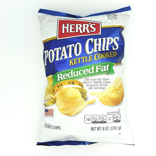HERRS POTATO CHIPS Reduced Fat 170 g