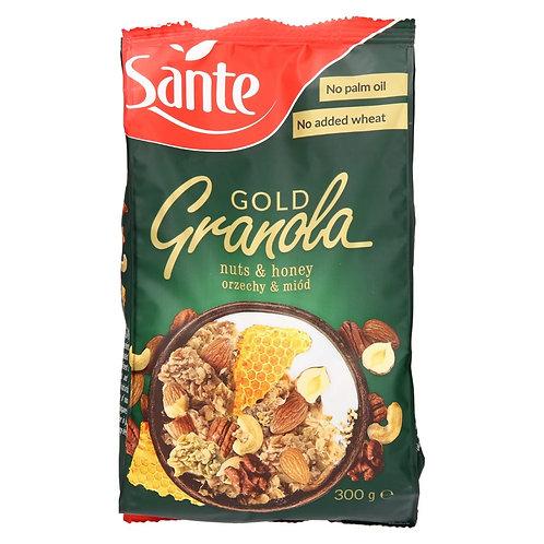 Sante Gold Granola nuts & honey orzechy &miod