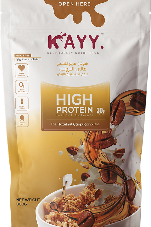 KAYY HIGH PROTEIN The Hazelnut Cappuccino One