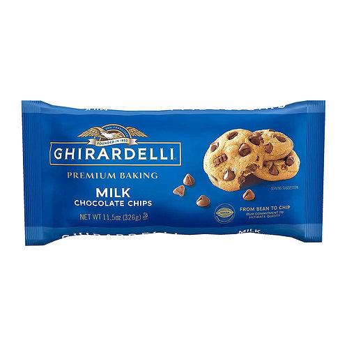 CHIRARDELLI MILK CHOCOLATE CHIPS