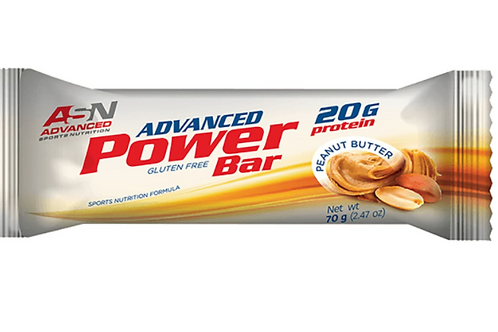 ASN ADVANCED Power Bar PEANUT BUTTER 70G
