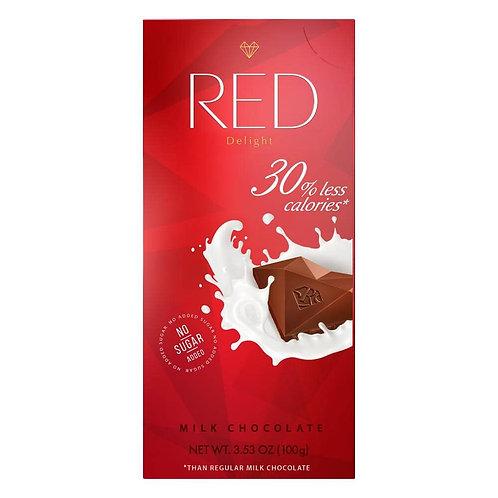 RED Delight MILK CHOCOLATE 100 g