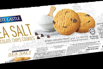 white castle sea salt chocolate chip cookies