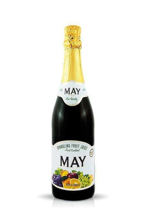 May sparkling juice tropical