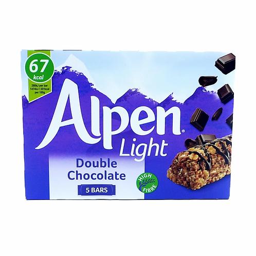 Alpen Light Double chocolate