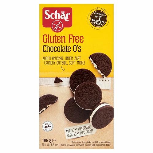 Schar gluten free chocolate o's