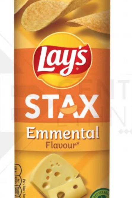 Lays STAX Emmental Flavour     170g