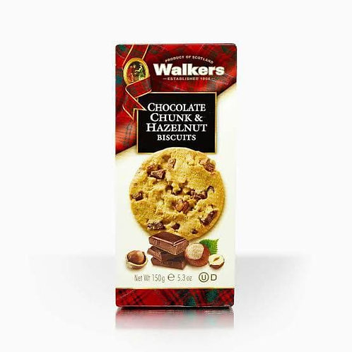 walker chocolate &hazelnut cookies