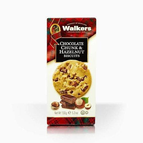 walker chocolate &hazelnut cookies