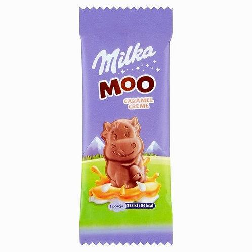 Milka moo caramel cream chocolate