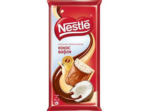 nestle coconut and wafer chocolate