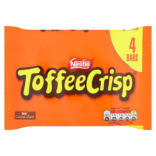 Nestle Toffee Crisp 124g