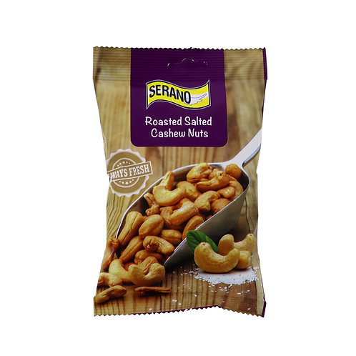 SERANO Roasted Salted Cashew Nuts 150 g