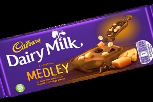 Cadburry dairy milk medly