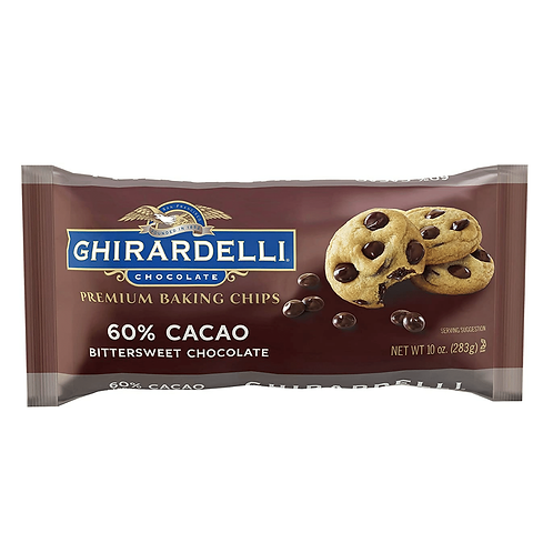 CHIRARDELLI CHOCOLATE  60% CACAO